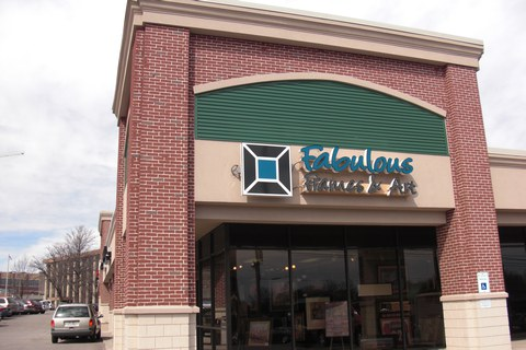 Frontal shot of Kenwood store